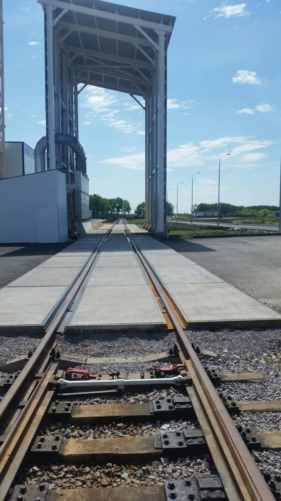 Железнодорожный переезд на объекте «Мегамикс Центр»