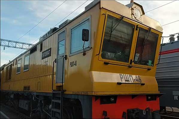 Рельсошлифовальный поезд РШП-48