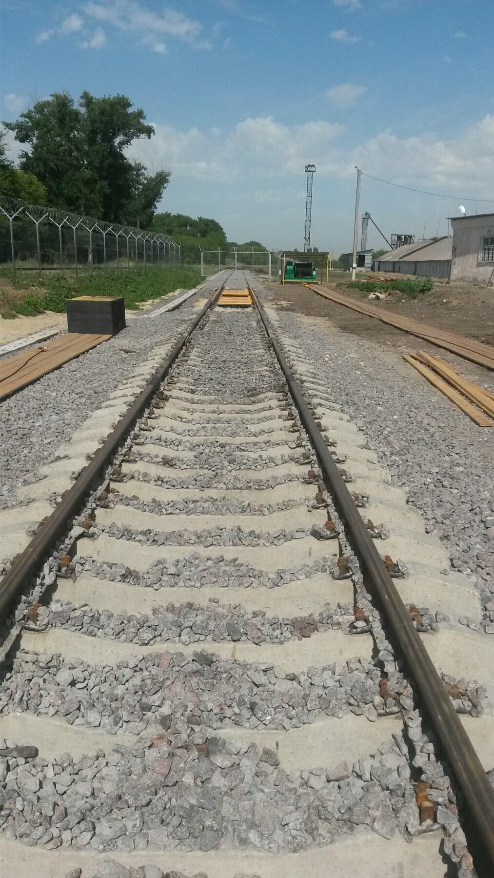 Жд путь и железнодорожные весы