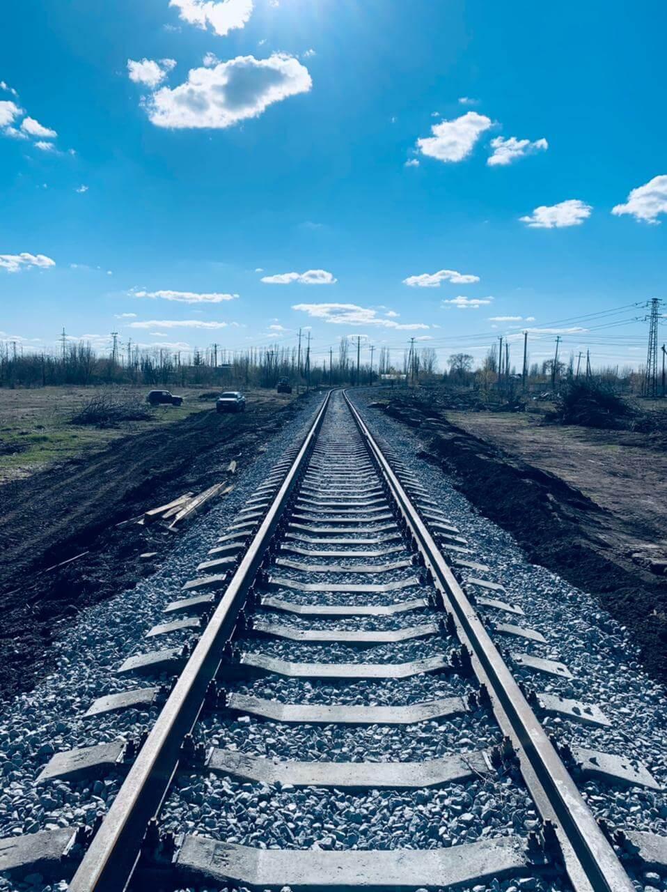 Капитальный ремонт железнодорожного пути по станции Поворино ЮВЖД