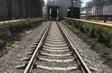 Железнодорожный путь на объекте ООО Кристалл